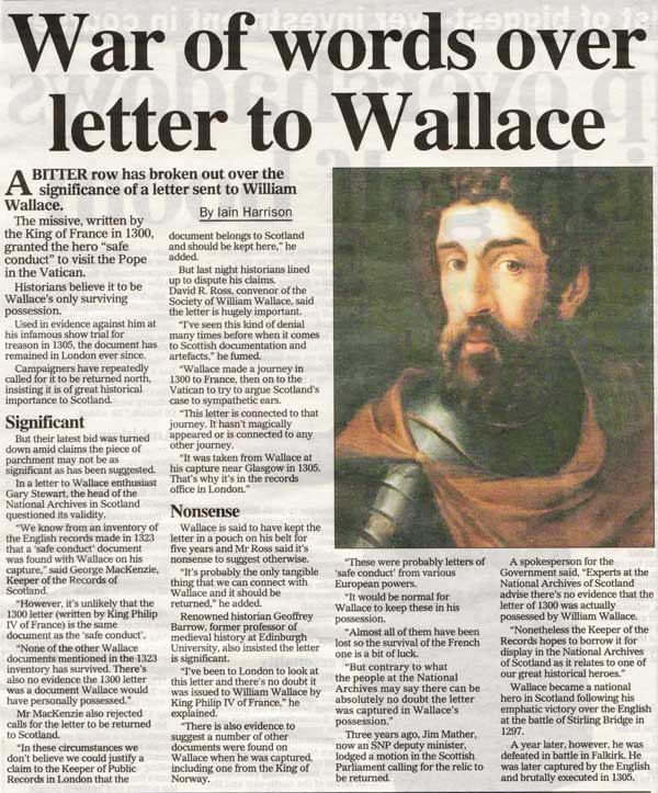 the true story of the life of william wallace William wallace was a scottish knight who was a central figure in the wars of scottish independence this biography of william wallace provides detailed information about his childhood, life, achievements, works & timeline.